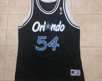 e80e6ca0d094 Orlando Magic Horace Grant Vintage Champion Black Basketball Jersey