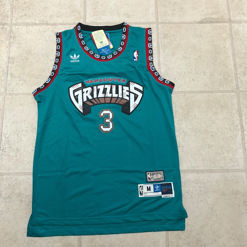 8f9ffa106 ... vancouver grizzlies basketball jersey Vancouver Grizzlies Shareef  Abdur-Rahim Teal Throwback ...