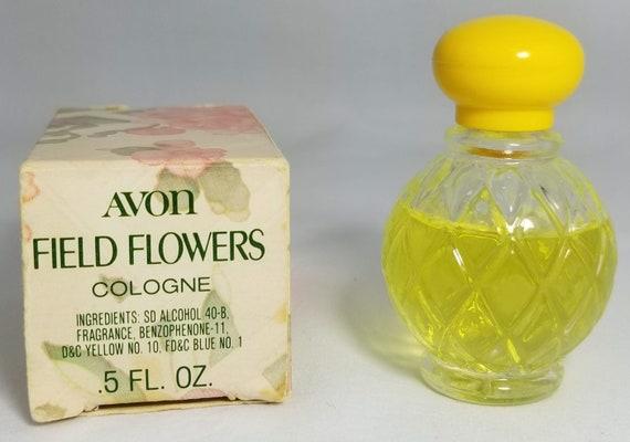 Items similar to Vintage Avon Cologne Field Flowers Perfume Original