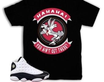 a33509ecd8ef5b Jordan 13 He Got Game Bugs Bunny Shirt   Match Air Jordan 13 He Got Game  Sneakers