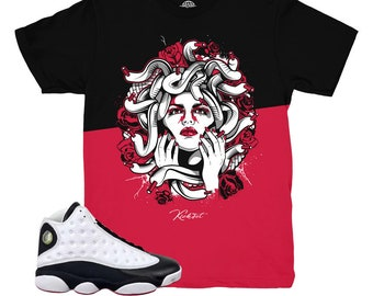 finest selection 6d5ca e9e9d Jordan 13 He Got Game Split Medusa Shirt   Match Air Jordan 13 He Got Game  Sneakers