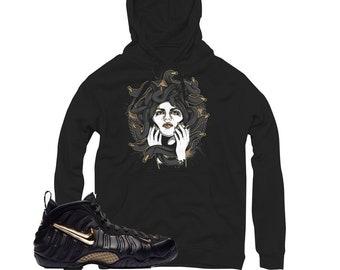 b4282cd36fdd2 Foamposite Pro Gold Medusa Sneaker Match Hoodie