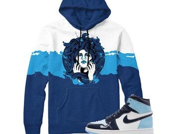 16f258fafd7 Jordan 5 Laney JSP Medusa Waves Sneaker Match Shirt | Etsy