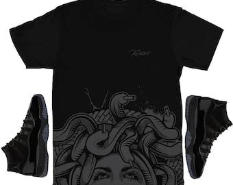 22fbaa4e7b2608 Cap and Gown 11 Bottom Medusa Drip Shirt
