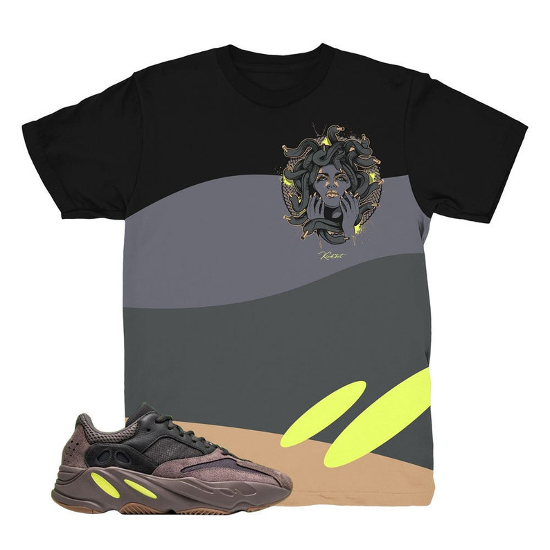 0a8cbee80 Yeezy Boost 700 Mauve Medusa Waves Sneaker Match Shirt
