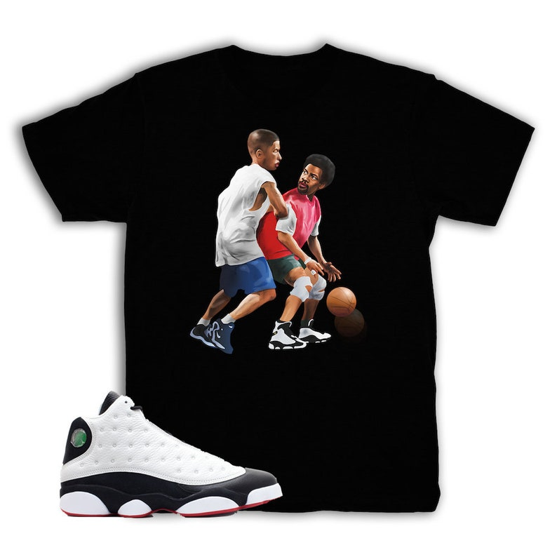 reputable site ef669 9473a He Got Game 13 Versus Shirt Match Air Jordan 13 He Got Game   Etsy