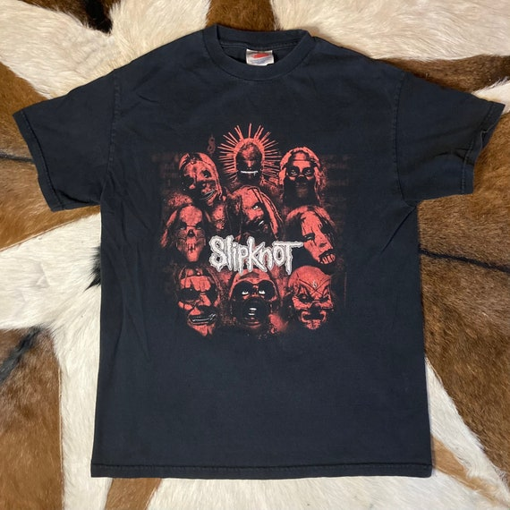 Rare Vintage Slipknot T-Shirt (Iowa album, 2001) B