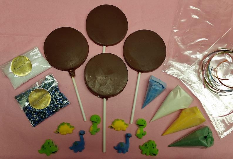Dinosaur Chocolate Kit