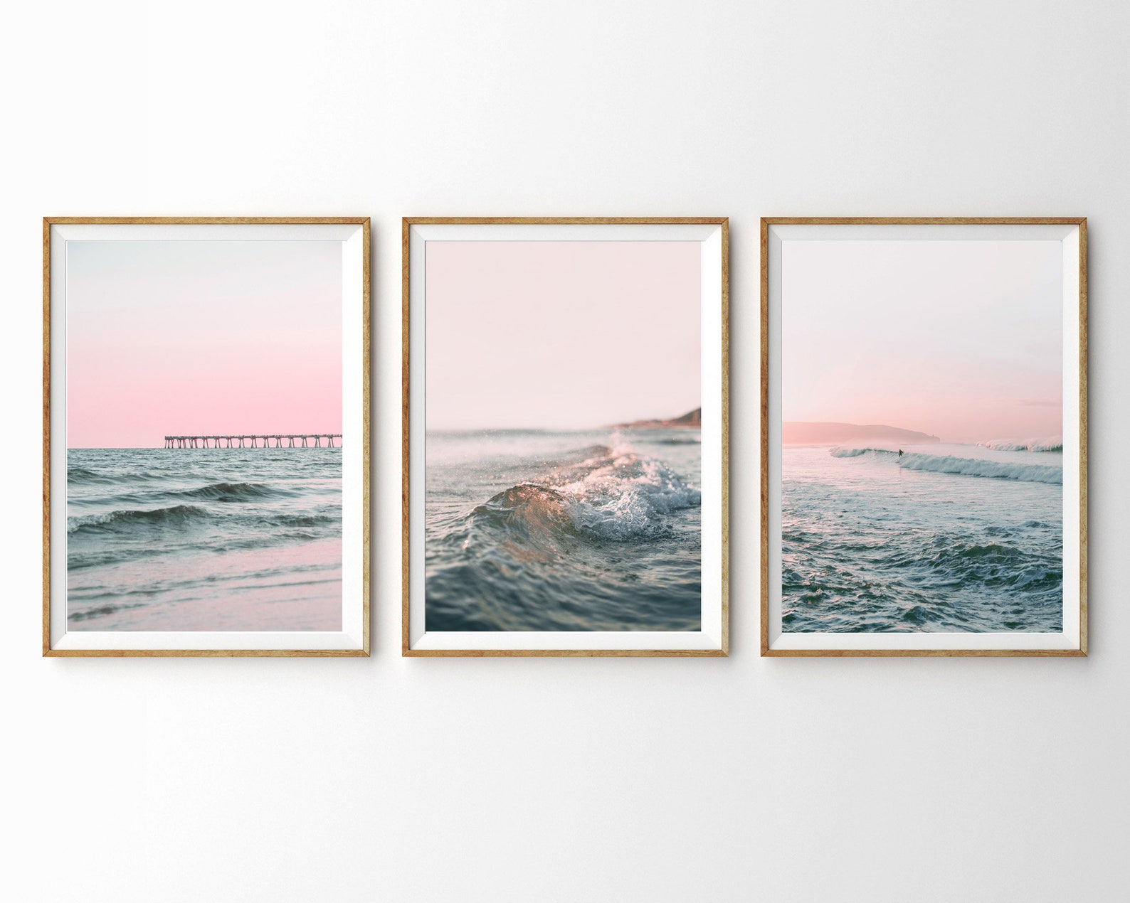 sunset travel gallery wall set.