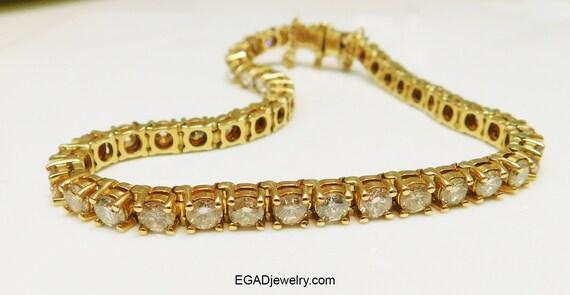 Vintage Estate Antique 14K Yellow Gold 45 Diamonds