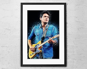 White Sugar John Mayer - John Mayer Poster