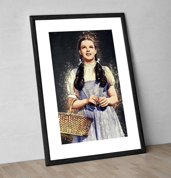 The Wizard Of Oz Wicked Witch Judy Garland Poster Print
