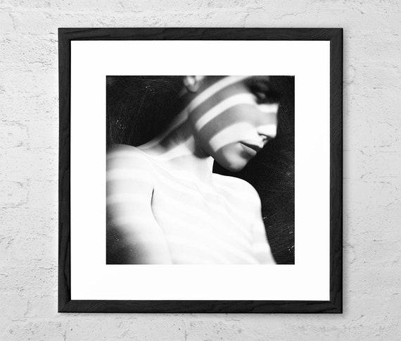 Amber Fine Art Photography Black And White Sensual Wall Art Nudeart Fashion Wall Art Beauty Nude Print Nudity Female Body