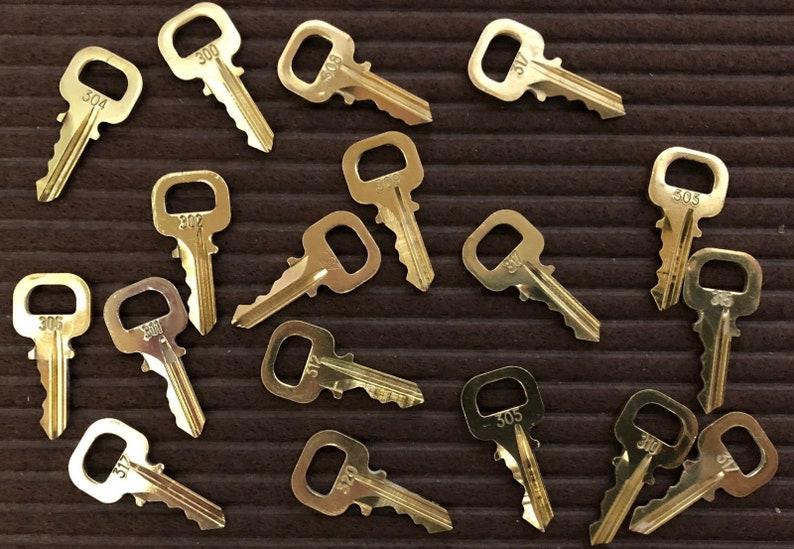 Authentic Louis Vuitton Keys - Numbers 328 330 332 336 337 338 339 340 341  342 343 344 347