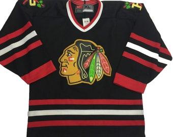 promo code 4f5ac df09e Blackhawks jersey | Etsy