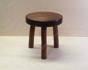 Astounding Three Legged Stool Etsy Gmtry Best Dining Table And Chair Ideas Images Gmtryco