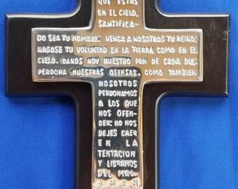 Padre Nuestro Cross