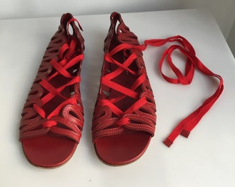 Marc red barefoot sandals by Marc Jacobs P40 (