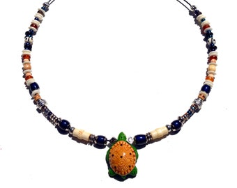 Terrapin Necklace, 18 inches
