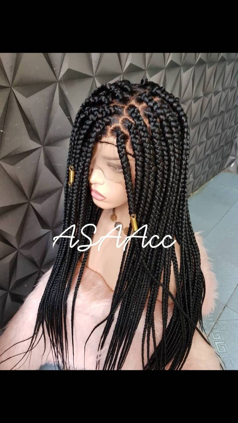 Full lace Box Braids Wig Box braids wig with baby hair  d28d0f377