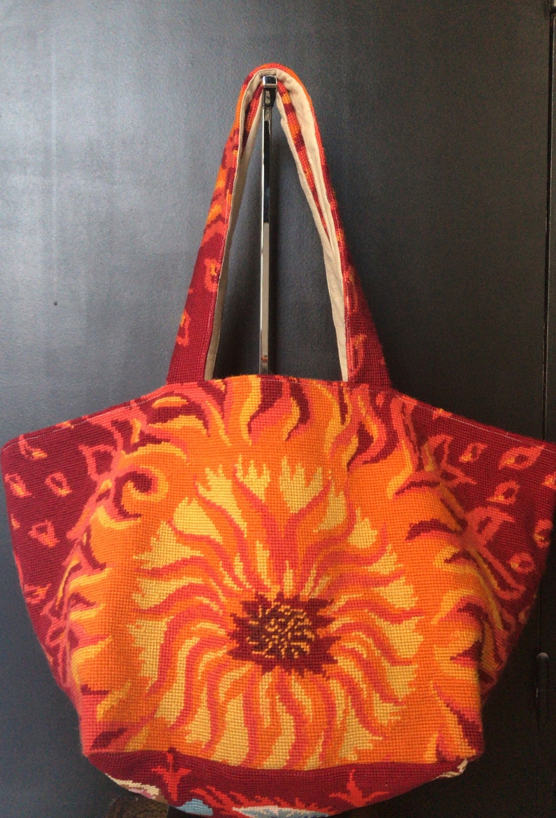 Tapestry FLAME Tote in Tapestry for a rock style gift for her