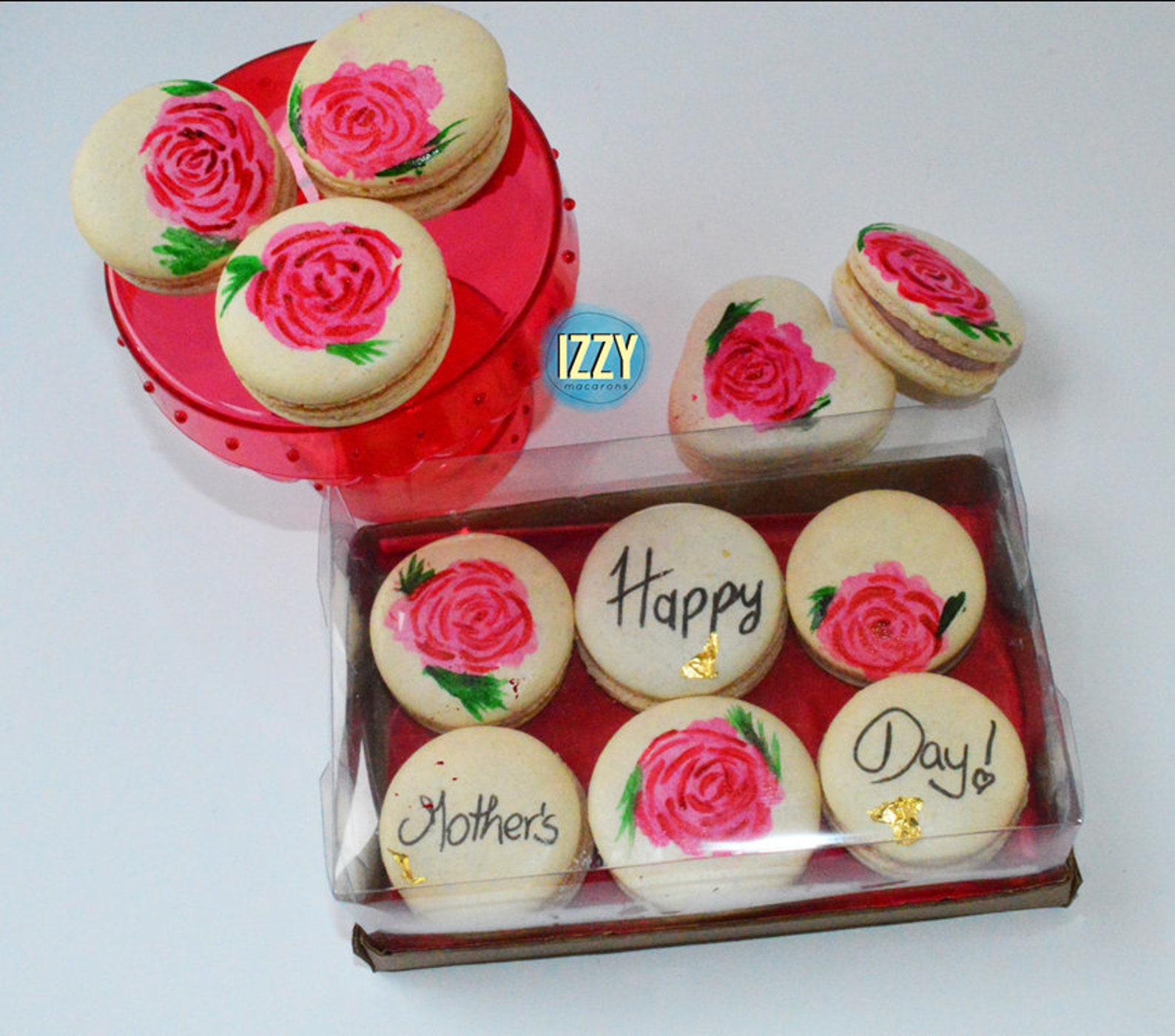 Mothers Day Macarons