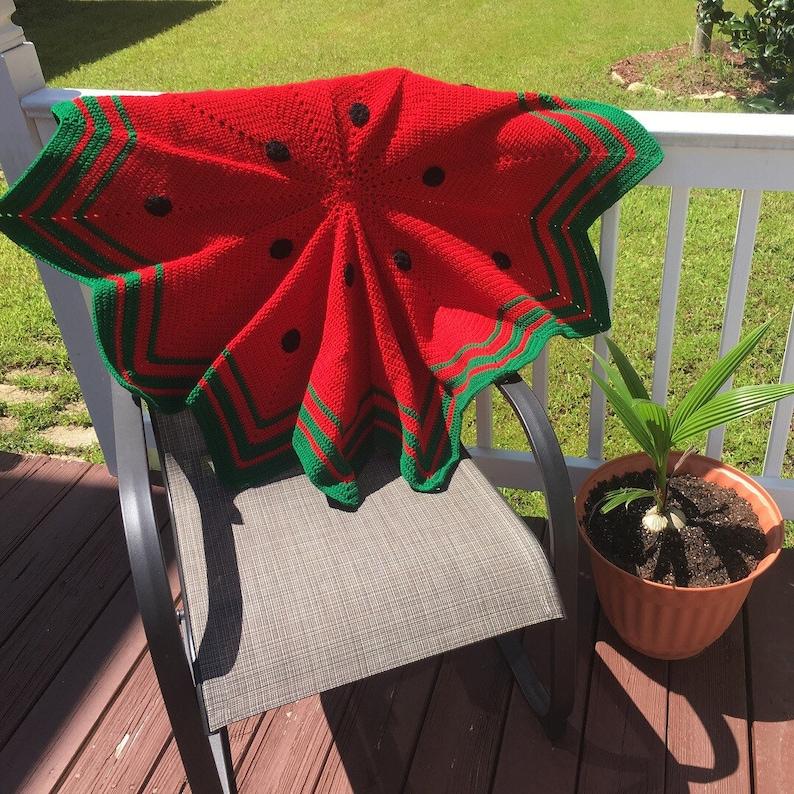 Star Blanket Watermellon