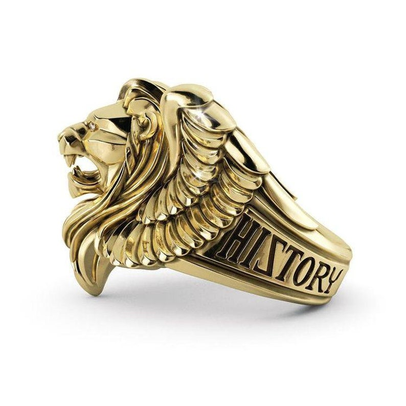 King Of Lion Ring Sterling Silver 925 image 0