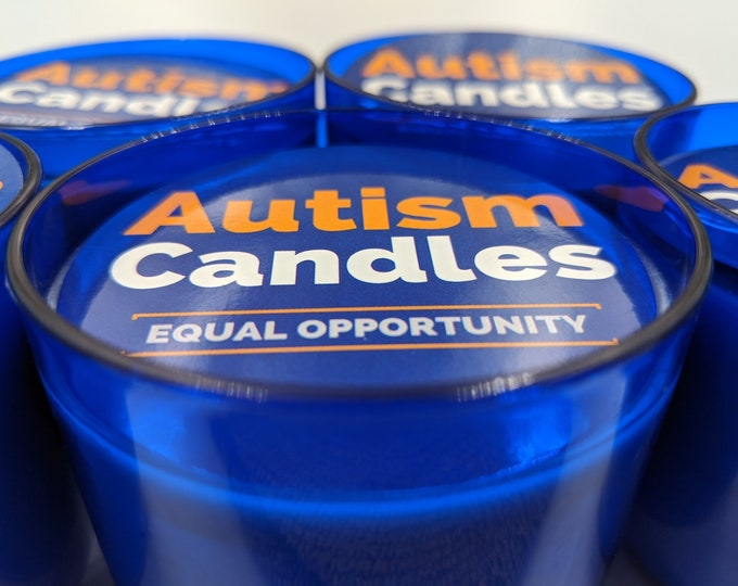 Featured listing image: Autism Candles 4.5oz Jar Candles