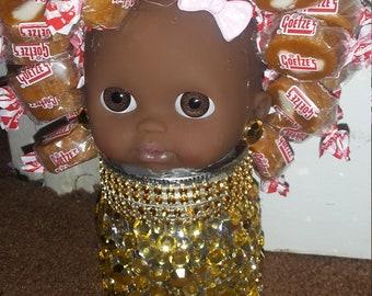 candy hair doll