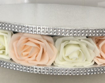 Stunning flower cake stands in any colour combination