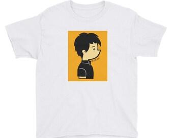 Jalexlo Boy Youth Short Sleeve T-Shirt