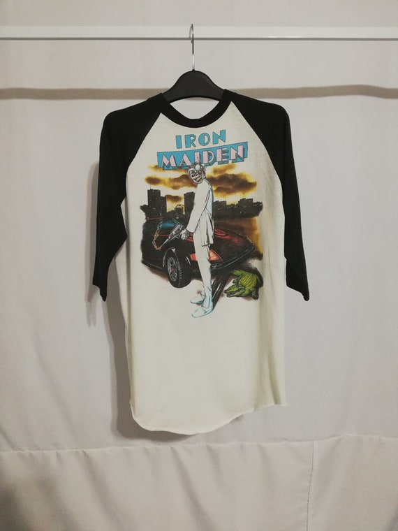 Vintage Iron Maiden Vice is Nice 80s Jersey T-shir