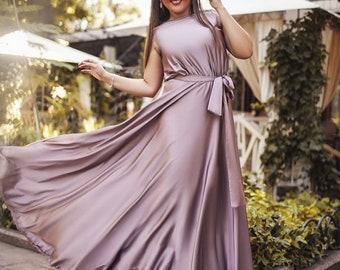 Mauve bridesmaid dress | Etsy