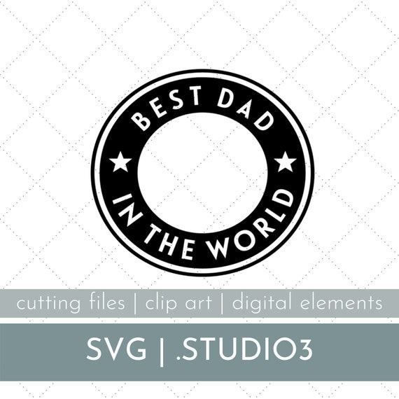 Free Best Dad In The World Starbucks Cup Svg Starbucks Cold Cup Etsy SVG, PNG, EPS DXF File