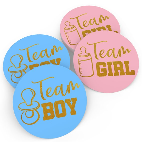 Baby Nest Designs Gender Reveal Party Supplies With The Original Jumbo Blac...