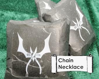 Goth Mystery Box. Goth Mystery Bag. Mystery Necklace. Goth Necklace. Goth Jewelry. Gothic Mystery Bag. Gothic Mystery Box. Gothic Jewelry.