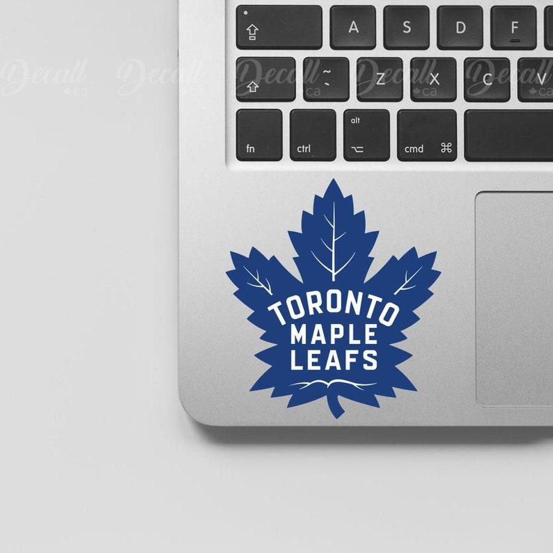 Ice Hockey Team Toronto Maple Leafs Logo Sport Sticker Laptop Etsy