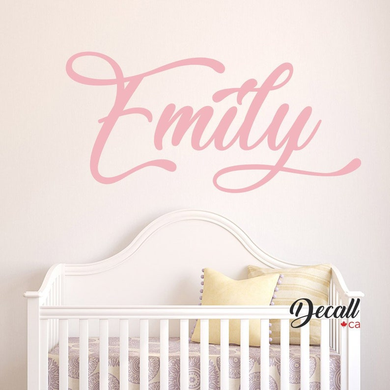 727c612559d72 Personalized Name Monogram Wall Sticker - Custom Name Wall Decal - Kids  Name Wall Decal - Nursery Wall Decor - Removable Vinyl Name Decal
