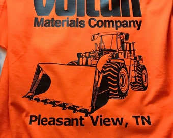 2aa9fd675 Vulcan Materials T-Shirts/Employee Uniform/Work Shirts/Company shirts/Truck  tshirts