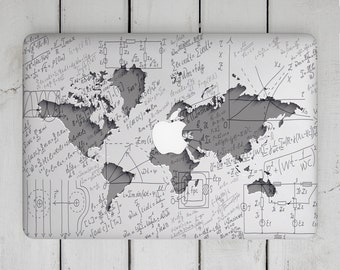 World map decal etsy laptop decal science macbook pro 2017 world map macbook mac retina 12 macbook pro 15 skin macbook pro 13 decal macbook air 11 inch 2016 inch gumiabroncs Choice Image