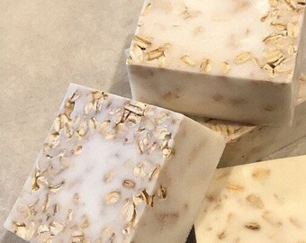 Natural HONEY and OATS soap