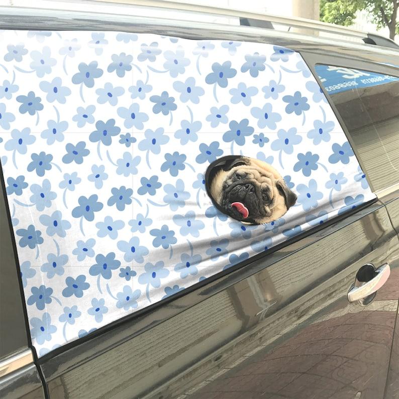 Dog Safety Curtain, Sun Shade For Dog, Car Window Sun Shade, Cute Pet  Accessories, Cute Gift For Dog, Car Window Barrier, Car Window Sleeves