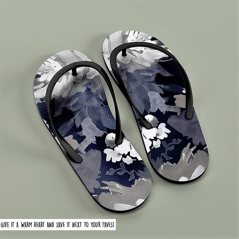 0b0c3968e04c Floral Dress Sandals Spring Flip Flops Stylish Beach Sandal