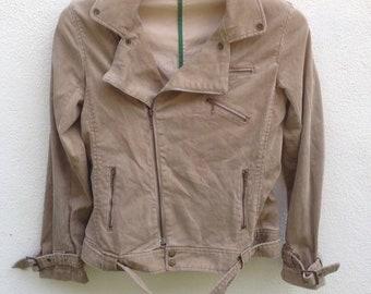 Vintage Double Collar jacket punk rocker size S