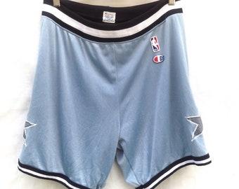 RARE Vintage champion X Nba Shorts pants 32-36 X 18