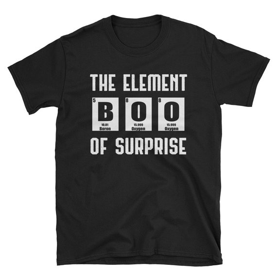 Halloween Costume Tshirt Periodic Table Tee The Element Of Etsy