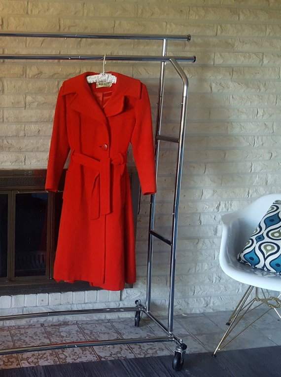 1960s Joseph Magnin/David Hayes trench coat