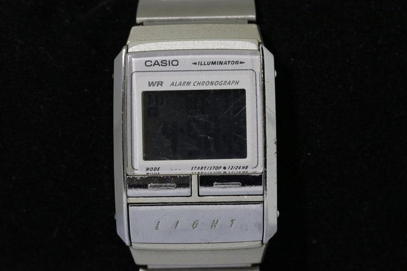 Japon Casio 1990 Montre Éclairage Années RareDu Lcd Rétro Des Très dCxBoe