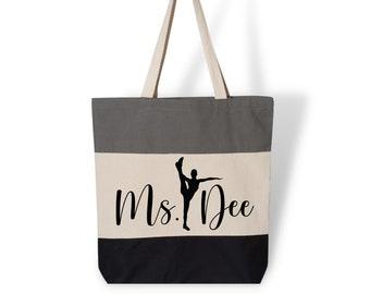 Tote bag Dance class tote Girls dance bag Ballet bag Ballet shoes Ballerina tote bag Ballerina gift Ballerina Broadway gif Ballet Shoes